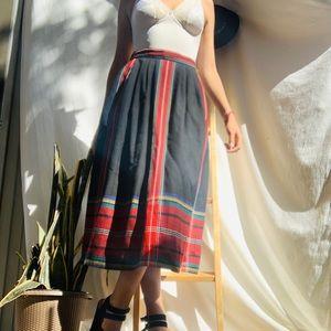 Vintage plait winter skirt